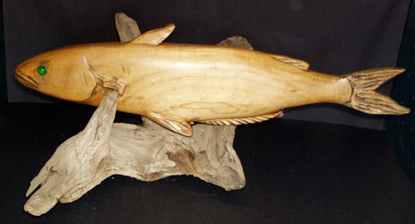 Carved Catfish